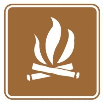 营火标志图片
