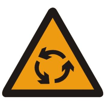 环形交叉标志图片